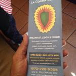 La Cocina.....info card