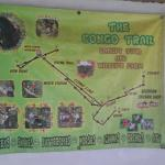 Canopy trail map at Congo Trail Canopy/ATV