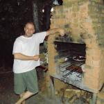 Aad is a good braaimaster