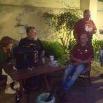 Western Cape Airborne Riders Motorcycle Club relaxing at Kinga Lodge!