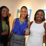 Guests enjoy an event at the National Gallery