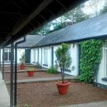 Modern, clean, tidy and quiet, the motel-style rooms attached to the Brown Trout, Aghadowey.