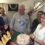 A birthday celebration at Craco's