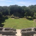 Maya Ruinen in Caracol