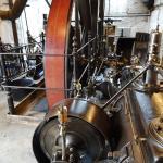 Die Dampfmaschine von 1903.