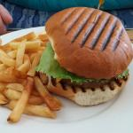 My friend's burger