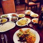 Order off menu - Sri Lankan curries and rice