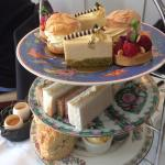 Here is the delicious afternoon tea we had today. It's well worth a visit to The Black Swan in H