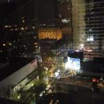 Great view from our room. Charlotte is a beautiful city, especially at night.
