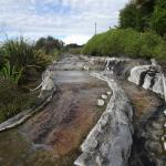 Thermische bronnen in Waikite Valley