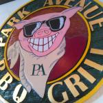 The Park Avenue BBQ and Grill logo