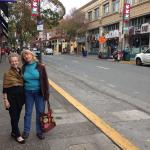 Visiting my sister in downtown Berkeley.