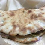 Gyro pizza sandwich