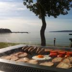 BBQ on beachfront