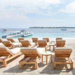 Sunbed private beach