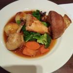 Delicious roast chicken