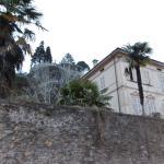 das La Villa, uím Hintergrund der Garten Paradiso