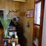 The smallest reception desk.