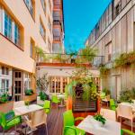 Hotel Clement Prague - summer terrace