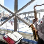Live Entertainment inside the Winter Pavilion