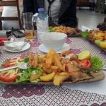 plats proposés : ici barracuda