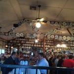 2100 plates adorn the walls