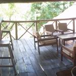 Top floor of the restaurant sections, good view, nice and breezy. The Luangwa Valley can get hot