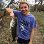 First Catch at Cypress Frio Waters!