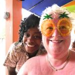 Marvette and Queen Sue:)