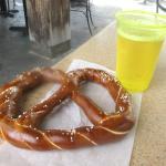 Pretzel with Hard Cider, Sonoma Terrace, California Adventure, Anaheim, Ca