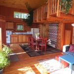 Log Lodge inside