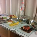 Cena en la habitacion