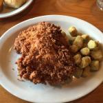 Sunday Chicken with Fried Okra