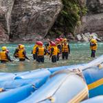 Rafting the Shotover