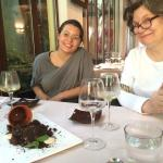 Chocolate flower pot dessert at El Patio