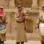 Ex-Jordanian army pipe band!