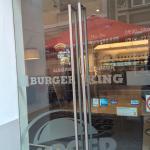Entering Burger King