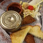 Un délice - Churros au Nutella - foie gras