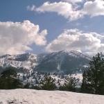 view from Samarina village