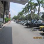 Ample car parking area