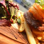 Mouthwatering dish from The George Petersfield menu