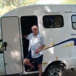 Our Bobo 4x4 campervan