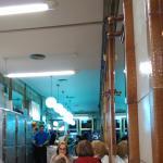 Los clientes gente de Alicante, el público de siempre.