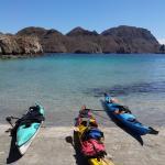 Loreto Mexico beach camping