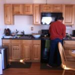 Nicely equiped kitchen. We cooked all meals - suggested, since there's nothing around for 20 mil