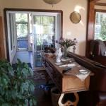 accès terrasse arrière, spa et sauna