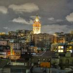 Galata tower view from rooftop