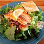 Salmon Filet Salad!