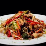Arroz creole vegetariano