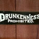 Haha. We tried to obey the rules at Panacea in Waynesville, NC>
